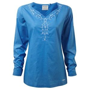 Craghoppers Rayna Top NWT Bluebell Size Small